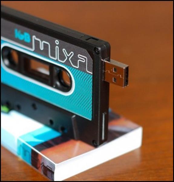 Clé USB rétro