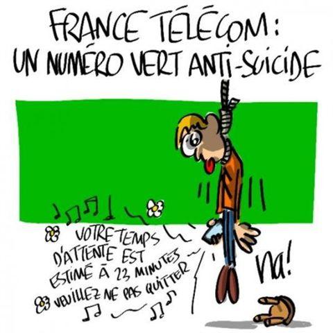 France Télécom : numéro vert anti-suicide