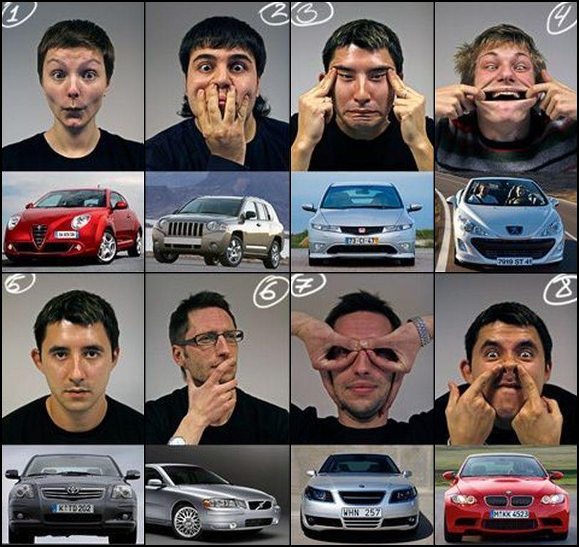 Immitation de voitures