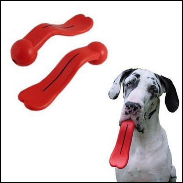 Insolite : langue de chien