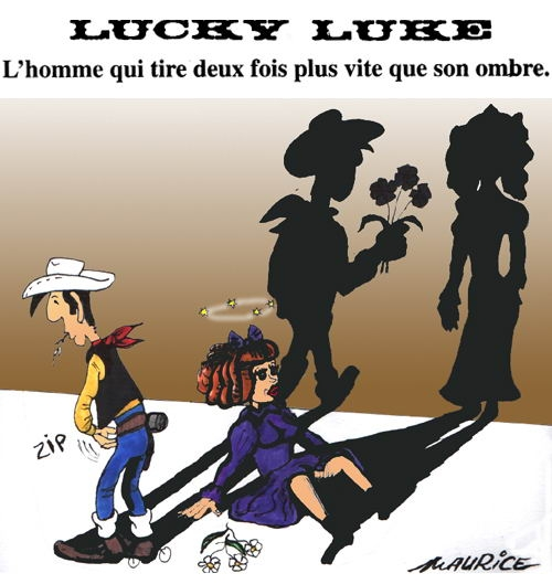 lucky luke tire plus vite