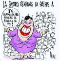 humour image photo La gastro remplace la grippe A