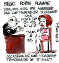 humour image photo Sego porte plainte
